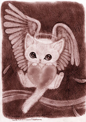 NO.33 Angel cat2