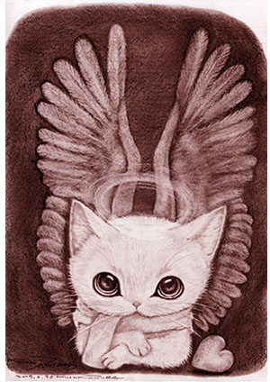 NO.32 Angel cat1